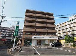 大阪府大阪狭山市狭山5丁目の賃貸マンションの外観