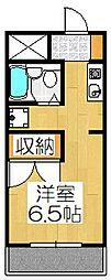 CASA Koetsu[102号室]の間取り