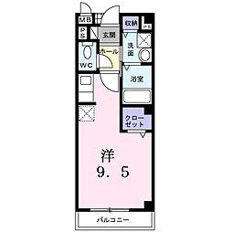 浜寺ヴィラ[2階]の間取り