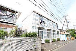 東京都調布市深大寺東町3の賃貸アパートの外観