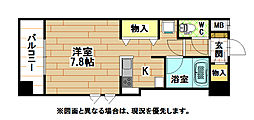北口幹線ビル[7階]の間取り