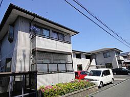 滋賀県大津市本堅田2丁目の賃貸アパートの外観