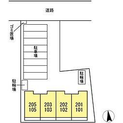 愛知県名古屋市南区丹後通1丁目の賃貸アパートの外観