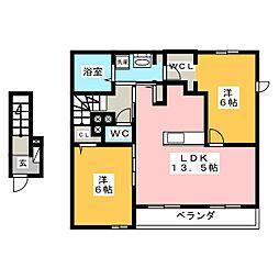 群馬総社駅 6.2万円