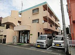埼玉県吉川市高富1丁目の賃貸マンションの外観