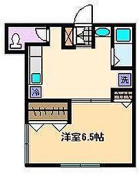マロニエハイツ[1階]の間取り
