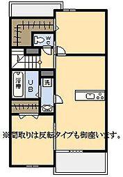 (新築)サン フォルシュII[2階]の間取り