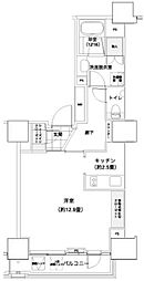 パークキューブ愛宕山タワー[2階]の間取り