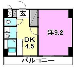 フローラTanooka[302 号室号室]の間取り