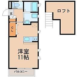 ティアレ湘南[2階]の間取り