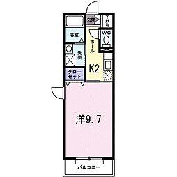 Dear Place 氷川台[3階]の間取り