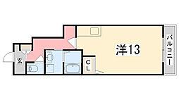 コゥジィーコート[106号室]の間取り