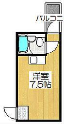 柑泉堂ビル[4-A号室]の間取り