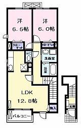 シルクロード[2階]の間取り