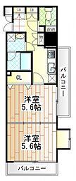 日神デュオステージ町田[9階]の間取り