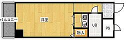 ライオンズマンション野田[3階]の間取り