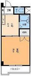 愛媛県松山市宮西1丁目の賃貸マンションの間取り