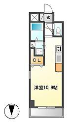 コート新栄[10階]の間取り