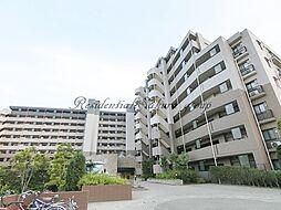 神奈川県平塚市高浜台の賃貸マンションの外観