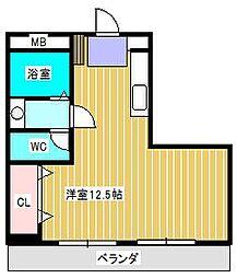 SIRIUS新松戸[3階]の間取り