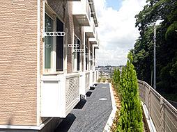 レオパレスヒル[1階]の外観
