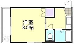 パークウェイ倉敷[2階]の間取り