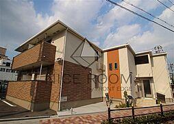 大阪府大阪市浪速区桜川4丁目の賃貸アパートの外観