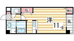 ING1[306号室]の間取り