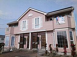 静岡県浜松市浜北区本沢合の賃貸アパートの外観