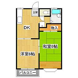 パークアベニューA棟[2階]の間取り