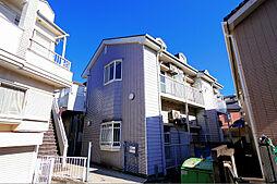 東京都東久留米市本町2丁目の賃貸アパートの外観