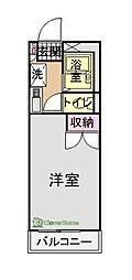 原宿南[2階]の間取り