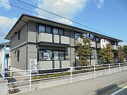 ツインズコート稲田B棟[1階]の外観