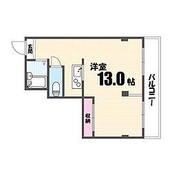 メゾン中央[3階]の間取り