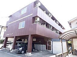 広島県三原市宮浦6丁目の賃貸アパートの外観