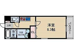 アヴェルーチェ高槻富田町[2階]の間取り