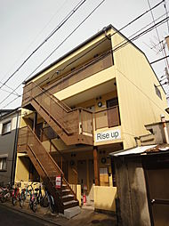 京都府京都市伏見区深草平田町の賃貸アパートの外観