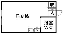 えんとぴあ[301号室]の間取り