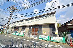 大阪府交野市向井田1丁目の賃貸アパートの外観