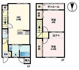 ファイン上飯野A棟[A-7号室]の間取り