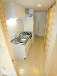 ノ・メール マサキのキッチン・廊下