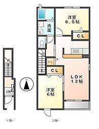 ソフィイコート[2階]の間取り