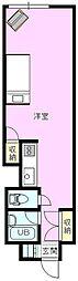 長野県長野市大字中御所の賃貸マンションの間取り
