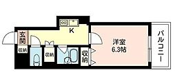 東京都千代田区神田多町2丁目の賃貸マンションの間取り