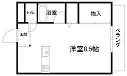 プチメゾンFuji[102号室]の間取り
