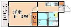 バリアトップ小笹[7階]の間取り