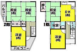 恵我ノ荘駅 5.5万円