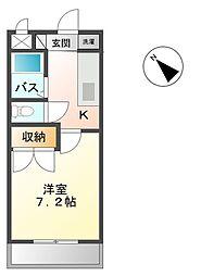 プロニティR&S[2階]の間取り