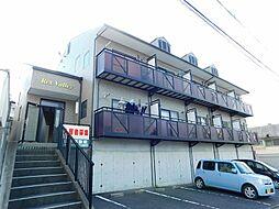 福岡県中間市通谷1丁目の賃貸アパートの外観