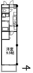 セブンアベニュー江北[302号室号室]の間取り